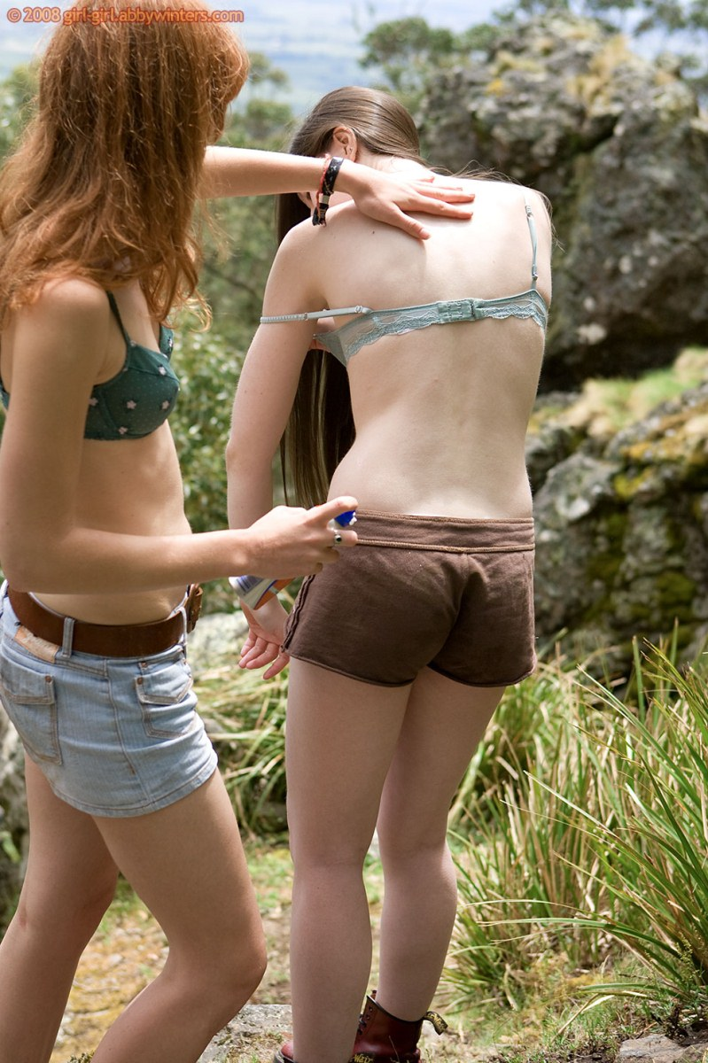 amateur girl hiking nude