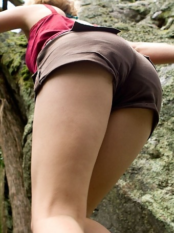 Girls amateur hiking nude