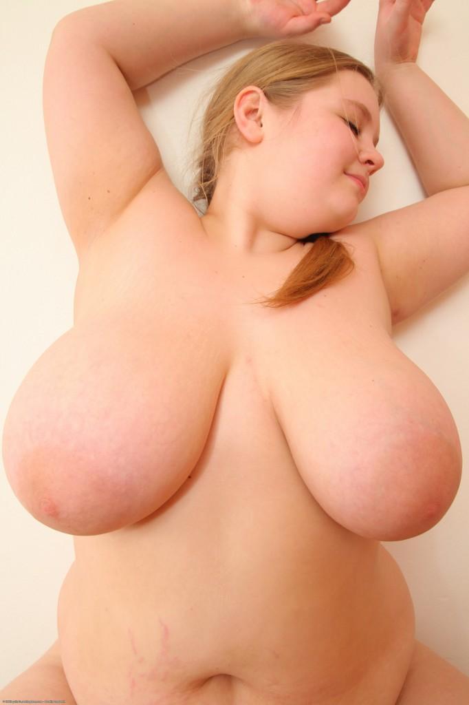 blonde Busty chubby
