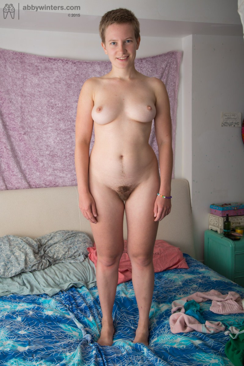 naked girl with muscles