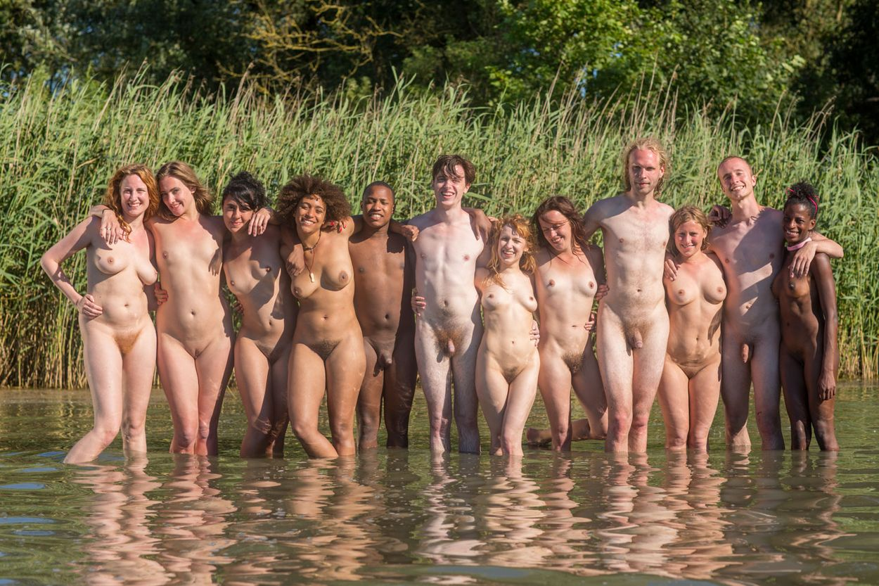 Outdoor group nude girls accept