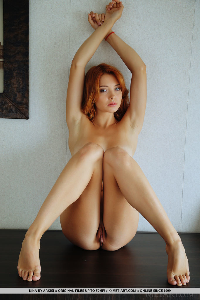 Redhead tan lines nude