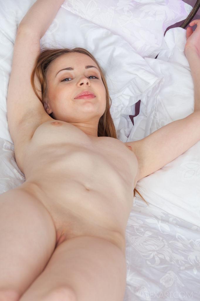 Teen pale girl solo nude apologise