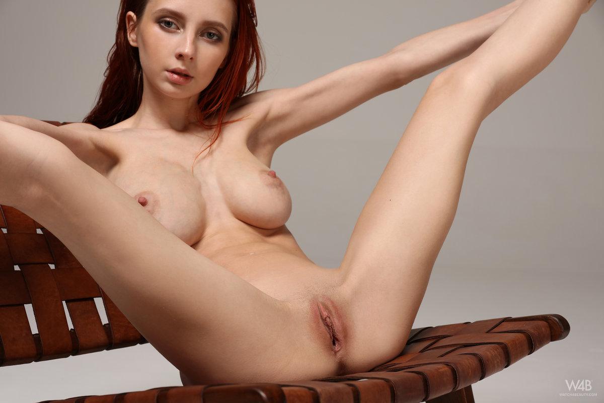 petite redhead pussy tits