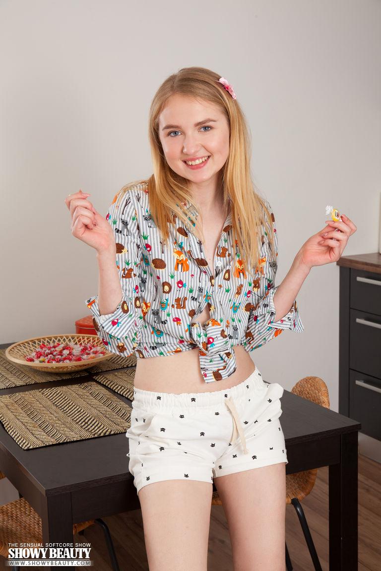 blonde teen titties