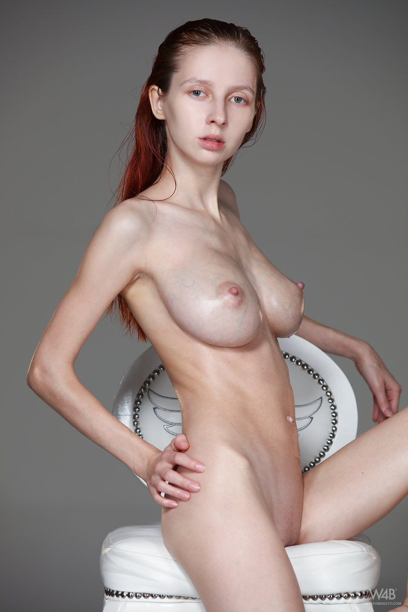 from Uriah petite big tits redhead