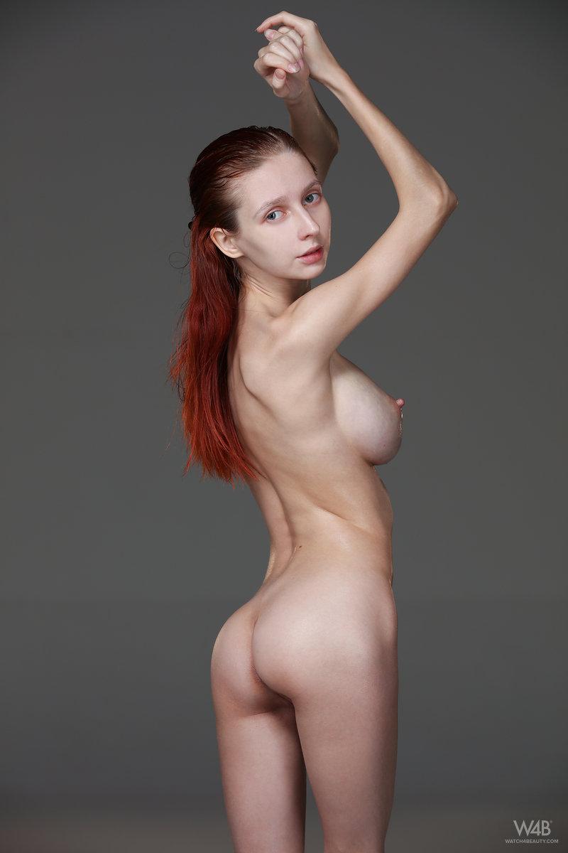 Chubby Big Tits Redhead