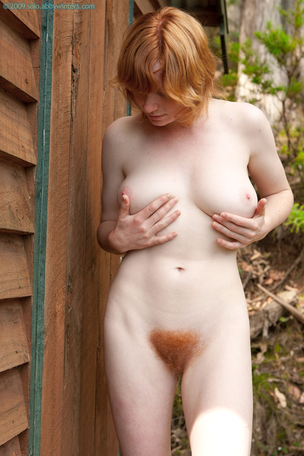 Natural redhead nudists fantastic