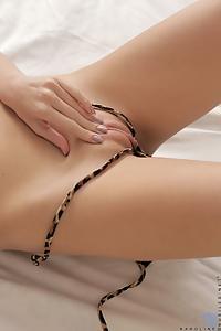 Karoline leopard skin panties