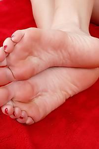 Kenzie Kai foot fetish