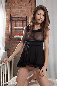 Mila in Hot Striptease