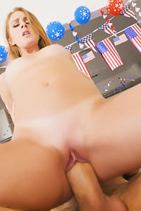 Daisy Stone in All American Banging