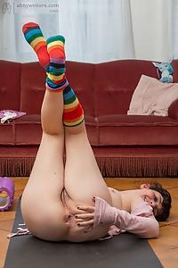 Dion D striped socks