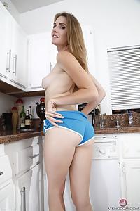 Ashley Lane hairy ass crack