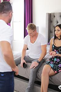 Adriana Marie in Dad What Are You Doing - Nanny Shamed For Fucking Adult Son