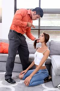 Charity Crawford in No Right Choice - Father Hustles Nanny Into Fucking Him