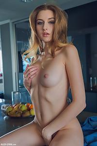 Amelia in Kitchen