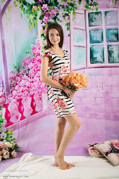 Alena in Lovely Flower