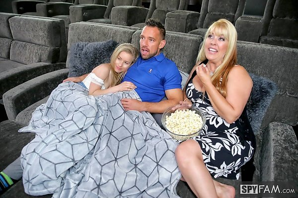 Lilly Ford in Father's Day Movie Night Surprise