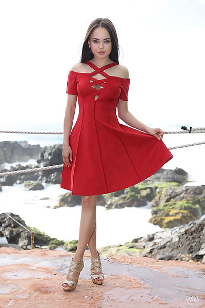 Li Moon in Girl In Red