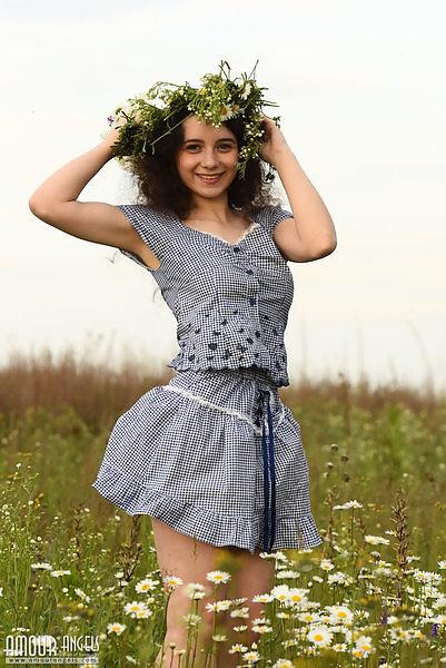 Jennifer in Wild Flowers