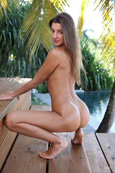 Maria in Naked Beauty In The Tropics