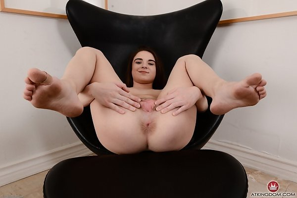 Megan Marx meaty pussy lips
