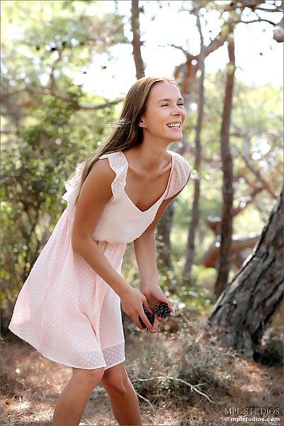 Karissa Diamond in Forest Pastel
