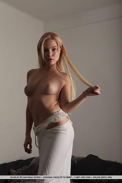 Scarlet in Raw Beauty by Natasha Schon