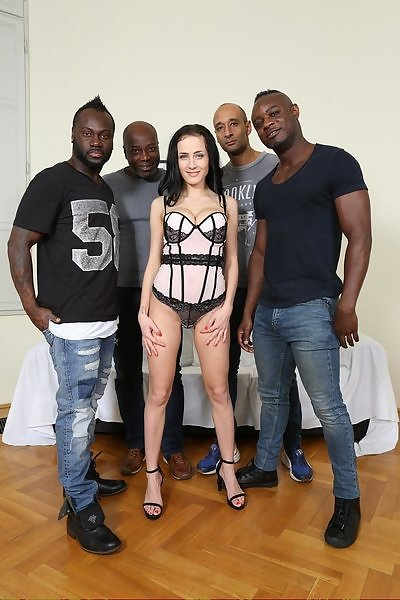Nicole Love interracial double anal