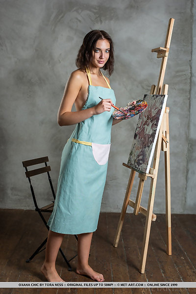 Oxana Chic in Solo Artist by Tora Ness
