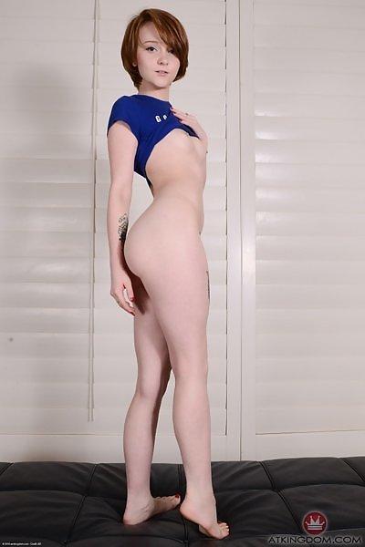 Lucy Valentine blue shirt