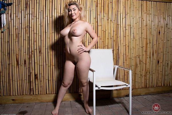 Serena Skye blue bikini
