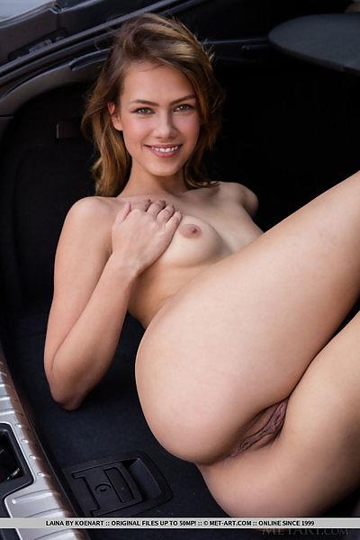 Laina in Sexy Car Wash by Koenart
