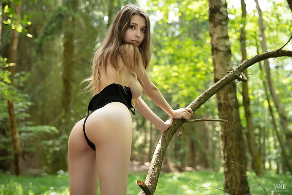 Milla in Naked In The Forest