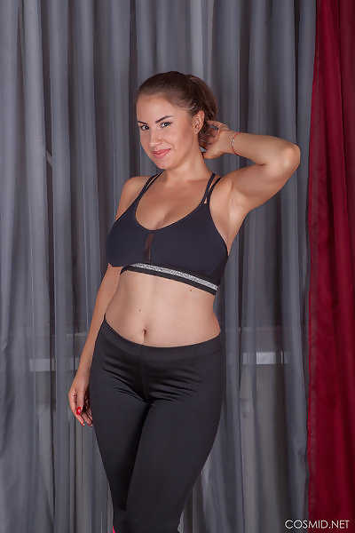 Alesya Romero gym clothes
