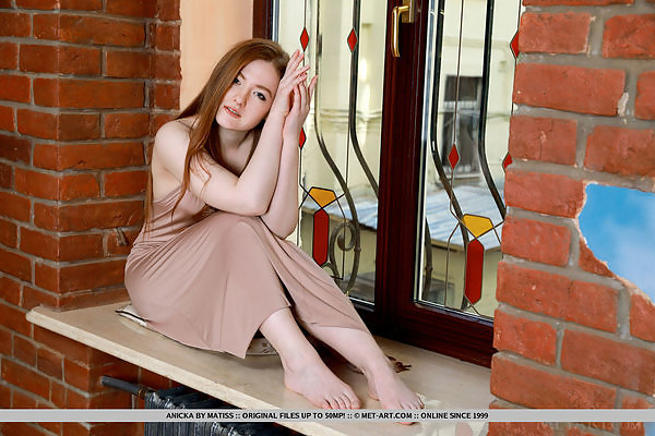 Anicka in Strawberry Blonde by Matiss