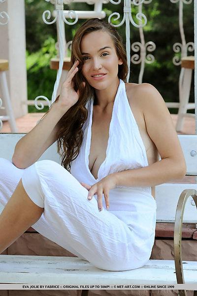 Eva Jolie in Jumpsuit by Fabrice