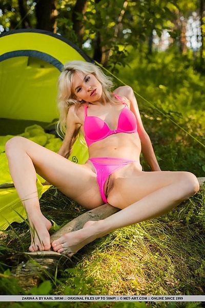 Zarina A in Summer Camp by Karl Sirmi