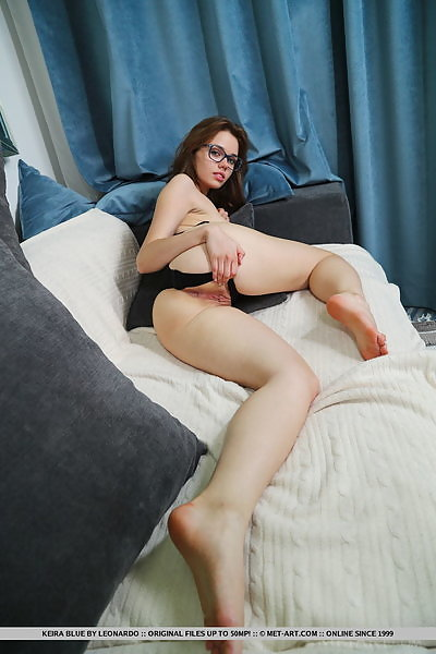 Keira Blue in Pillow Lounge by Leonardo