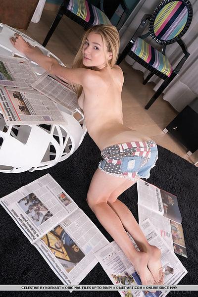 Celestine in Playful Morning by Koenart