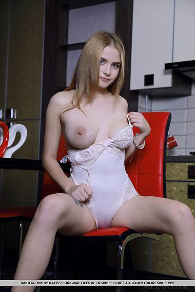 Dakota Pink in Sexy Teddy by Matiss
