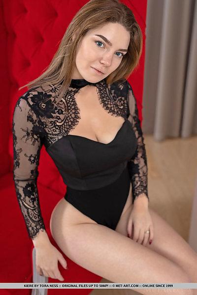 Kiere in Black Bodysuit by Tora Ness