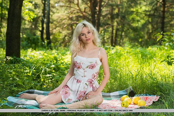 Zarina A in Green Apple by Karl Sirmi