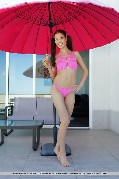 Lovenia Lux in Pigtails n' Pink by Arkisi