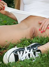 Alexis Crystal Strips in the park