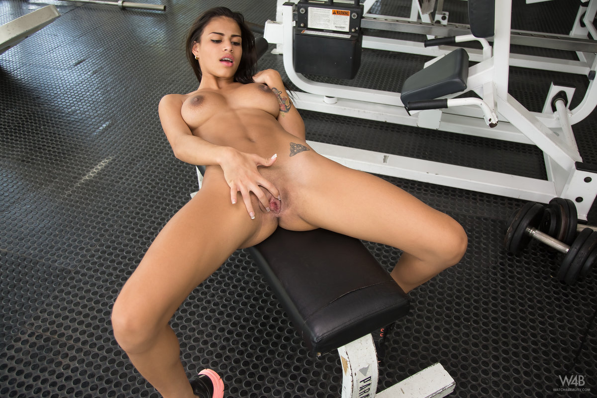 Hotties at the gym