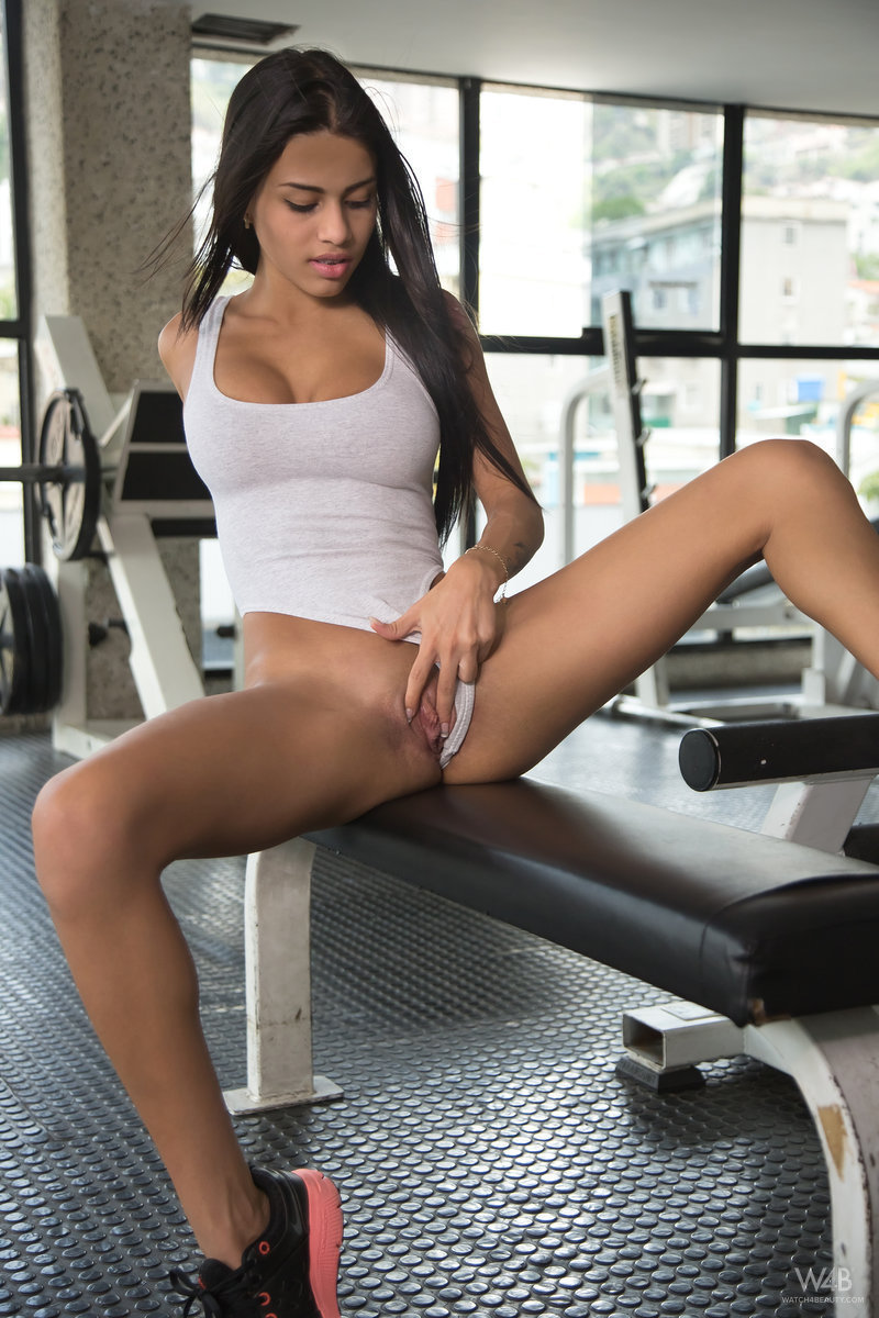 At gym hotties the