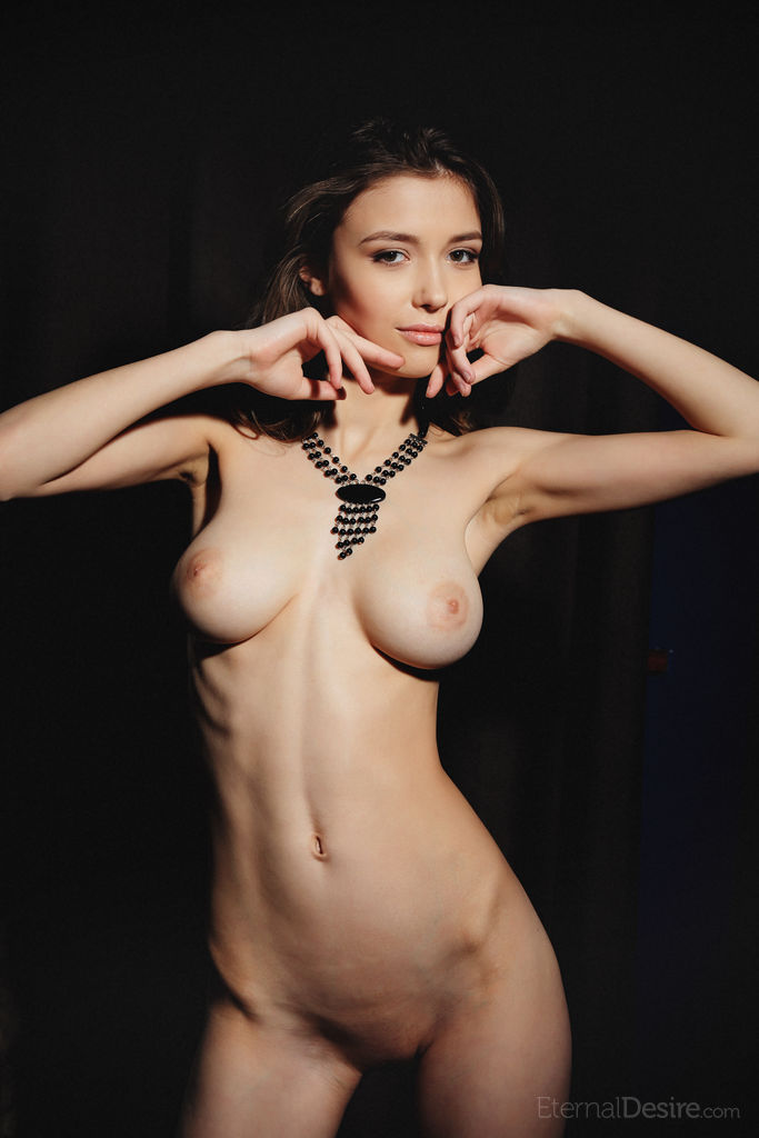 Skinny Huge Natural Boobs
