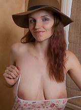 Nude couple sucking boobs